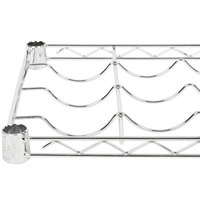 Regency 14 inch x 48 inch Wire Wine Shelf - 11 Bottle Capacity