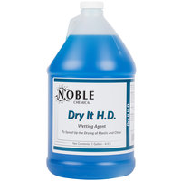Noble Chemical 1 Gallon Dry It HD Premium Rinse Aid / Drying Agent - Ecolab® 12864 Alternative - 4/Case
