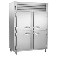 Traulsen AHT226WPUT-HHS Two Section Solid Half Door Shallow Depth Pass-Through Refrigerator - Specification Line