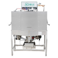 Noble Warewashing II Double Rack Low Temperature Dishwasher - 115V