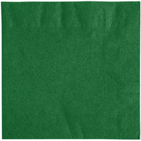 Choice 10 inch x 10 inch Green 2-Ply Beverage / Cocktail Napkins - 250/Pack