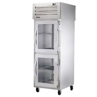 True STG1RPT-2HG-1S-HC Specification Series 27 1/2 inch Half Glass Front, Solid Back Door Pass-Through Refrigerator