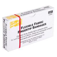 Medique 62612 Medi-First 1 3/4 inch x 2 inch Woven Fingertip Bandage - 10/Box