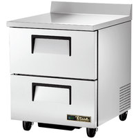True TWT-27D-2-ADA-HC 27 inch Deep ADA Compliant Work Top Refrigerator with Two Drawers