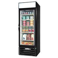 Beverage Air MMR23-1-B-LED Black Marketmax Refrigerated Glass Door Merchandiser with LED Lighting- 23 Cu. Ft.