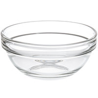 Cardinal Arcoroc 14060 Stackable 7.5 oz. Glass Ingredient Bowl - 36/Case