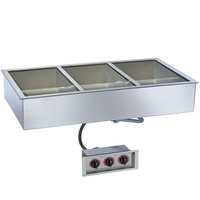 Alto-Shaam 300-HW/D4 Three Pan Drop In Hot Food Well - 4 inch Deep Pans, 240V