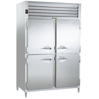 Traulsen AHT226WUT-HHS 40.8 Cu. Ft. Two Section Solid Half Door Shallow Depth Reach In Refrigerator - Specification Line