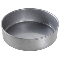 Chicago Metallic 47020 7 inch x 2 inch Aluminized Steel Round Customizable Cake Pan