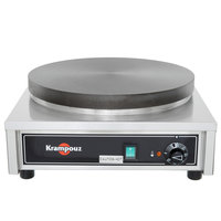 Krampouz CECIF4 17 inch x 18 inch Electric Cast Iron Crepe Maker - 3750W, 240V