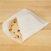 6 3/4 inch x 6 3/4 inch Dry Waxed Sandwich Bag - 2000/Case
