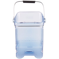 Rubbermaid 9F54 ProServe 5.5 Gallon Ice Tote with Ice Bin Adapter (FG9F5400TBLUE)