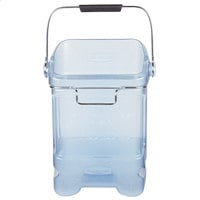 Rubbermaid FG9F5400TBLUE ProServe 5.5 Gallon Ice Tote with Ice Bin Adapter