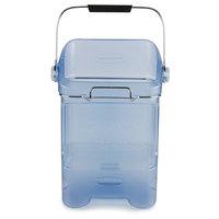 Rubbermaid 9F54 5.5 Gallon Ice Tote with Ice Bin Adapter (FG9F5400TBLUE)