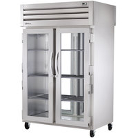True STG2RPT-2G-2G-HC Specification Series 52 5/8 inch Glass Door Pass-Through Refrigerator