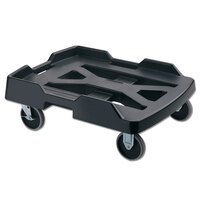 Rubbermaid 9F19 ProServe Black Dolly with Retention Strap for 9F12, 9F13, 9F14, 9F15, and 9F16 Insulated Food Pan Carrier (FG9F1900BLA)