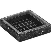 Cal-Mil 330-4-31 4 inch Black Ice Square Drip Tray