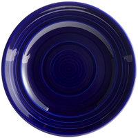 Tuxton CCA-062 Concentrix 6 1/4 inch Cobalt China Plate - 24/Case