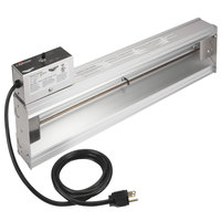 Vollrath 72681019 Cayenne 36 inch Strip Warmer with Front Toggle - 825W