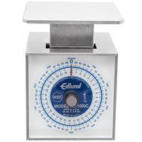 Edlund SR-1000C Premier Series 34 oz. / 1000 g Mechanical Portion Scale with 6 inch x 6 3/4 inch Platform
