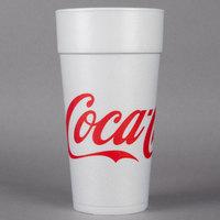 Dart 24J16C 24 oz. Coke® Foam Cup - 500/Case