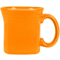 Homer Laughlin 923325 Fiesta Tangerine 13 oz. Square Mug - 12/Case
