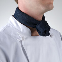 37 inch x 14 inch Denim Neckerchief / Bandana
