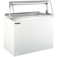 Master-Bilt DD-66CG 69 inch Curved Glass Ice Cream Dipping Cabinet
