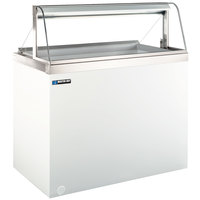 Master-Bilt DD-66CG 69 inch Curved Glass Ice Cream Dipping Cabinet