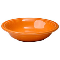 Homer Laughlin 459325 Fiesta Tangerine 6.25 oz. Fruit Bowl / Monkey Dish - 12/Case