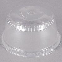 Dart Solo SDL58 5-8 oz. Clear Plastic Sundae Lid   - 1000/Case