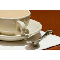 Homer Laughlin 10500 7.75 oz. Ivory (American White) Rolled Edge Boston China Cup - 36/Case