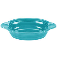 Homer Laughlin 587107 Fiesta Turquoise 17 oz. Oval Baker - 4/Case