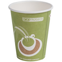 Eco Products EP-BRHC12-EW Evolution World PCF 12 oz. Paper Hot Cup - 1000 / Case