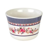 Thunder Group 9152AR Rose 5 oz. Melamine Tea Cup - 12/Case