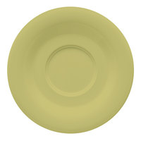 GET SU-2-AV Avocado Diamond Harvest 5 1/2 inch Saucer - 48/Case