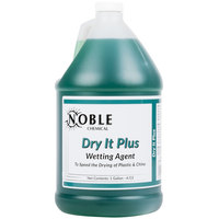 Noble Chemical 1 Gallon Dry It Plus Rinse Aid for High Temperature Dish Machines - Ecolab® 11817 Alternative - 4/Case