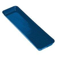 Cambro 8302MT142 Blue Fiberglass Market Pan 8 inch x 30 inch - 12/Case