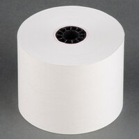 2 1/4 inch x 165' Traditional Cash Register POS Paper Roll Tape - 5/Pack