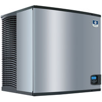 Manitowoc IY-1205W Indigo Series 30 inch Water Cooled Half Size Cube Ice Machine - 208V, 3 Phase, 1170 lb.