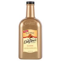 DaVinci Gourmet 1/2 Gallon Caramel Flavoring Sauce