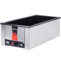 Vollrath 72050 Cayenne 28 3/4 inch x 13 3/4 inch Heat 'n Serve 4/3 Size Countertop Food Rethermalizer - 120V, 1600W