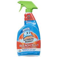 SC Johnson Fantastik 32 oz. Scrubbing Bubbles All Purpose Spray Cleaner with Bleach
