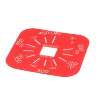 Pitco A6087301 T-Stat Label 200-450