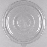 Fineline 5080FL-CL Super Bowl 64/80 oz. Clear Flat Lid - 25/Case
