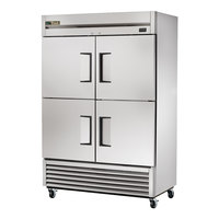 True TS-49-4-HC 54 inch Solid Half Door Reach-In Refrigerator