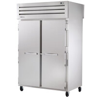 True STR2RPT-2S-2G-HC Specification Series 52 5/8 inch Solid Front, Glass Back Door Pass-Through Refrigerator