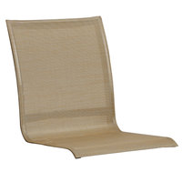 Grosfillex US447599 Sunset Cognac Table and Bar Chair Sling - 4/Pack