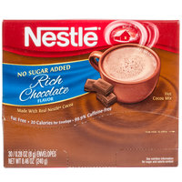 Nestle No Sugar Added Hot Chocolate Mix   - 30/Box