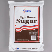 Light Brown Sugar - 25 lb.